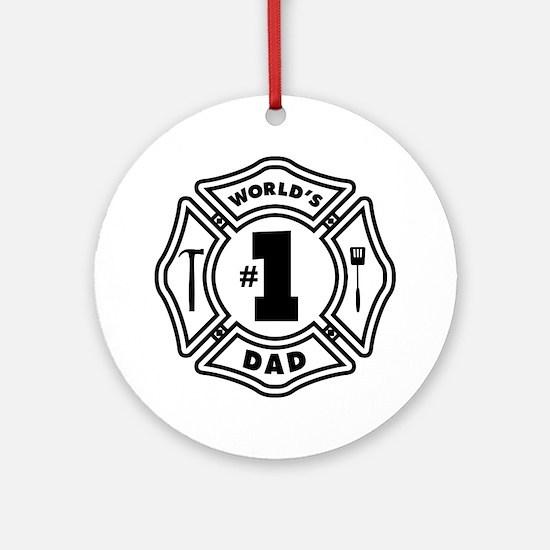 FD DAD Ornament (Round)