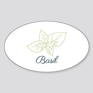 Basil Plant Sticker