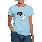 No no NO! SHE Eats for Two! Women's Light T-Shirt