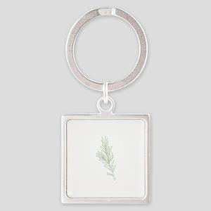 Rosemary Herb Plant Keychains