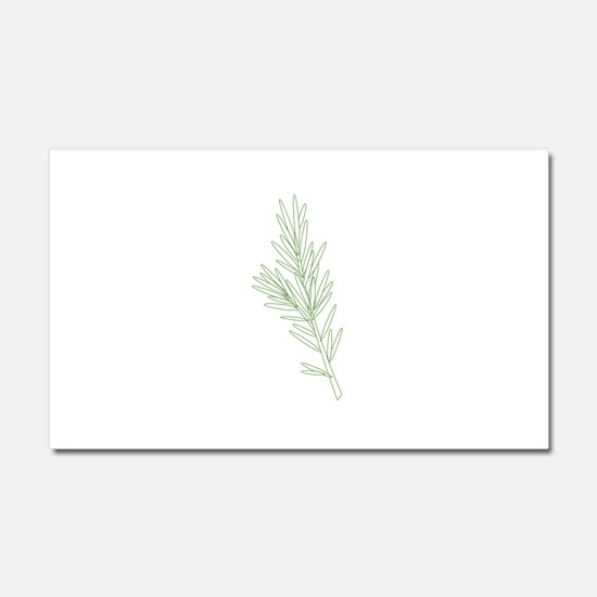 Rosemary Herb Plant Car Magnet 20 x 12