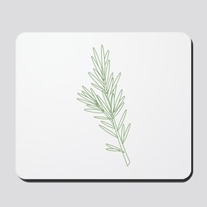 Rosemary Herb Plant Mousepad