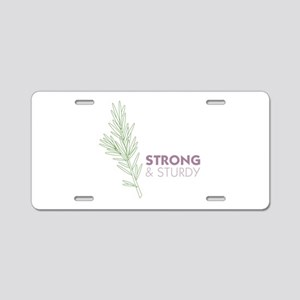 Strong Sturdy Aluminum License Plate