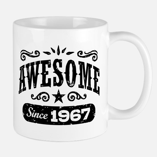 Awesome Since 1966 Mug