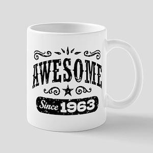Awesome Since 1963 Mug