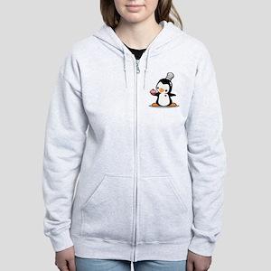 Chef Penguin Women's Zip Hoodie