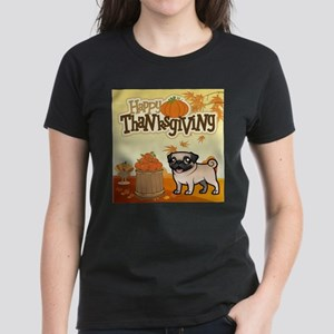 Happy Thanksgiving Pug T-Shirt