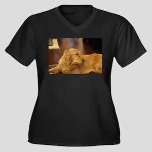 Nala inside during holiday Plus Size T-Shirt