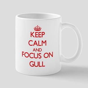 Keep Calm and focus on Gull Mugs