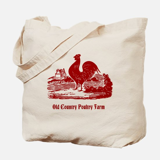 Red Rooster Country Farm Customizable Tote Bag