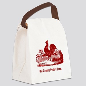 Red Rooster Country Farm Customizable Canvas Lunch
