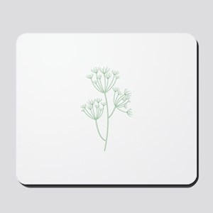 Dill Herb Plant Mousepad