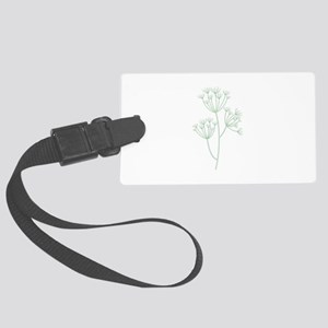 Dill Herb Plant Luggage Tag