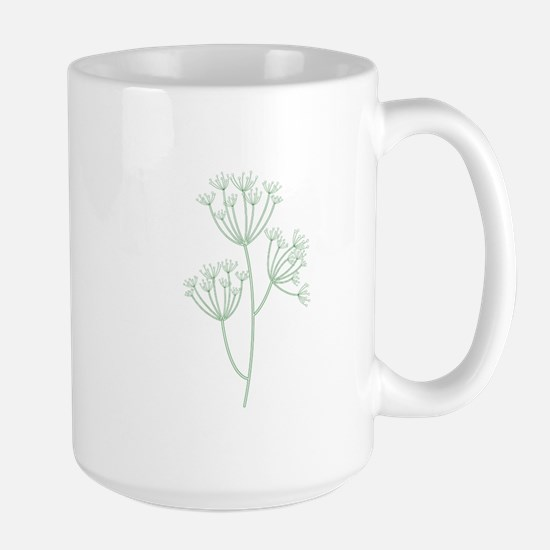Dill Herb Plant Mugs