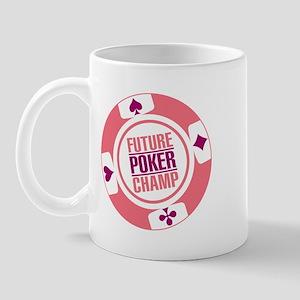 Future Poker Champ Mug