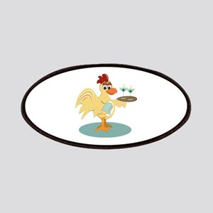 Martini Rooster Patches