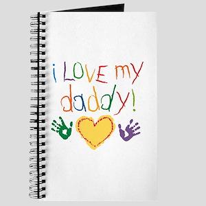 i love my daddy Journal