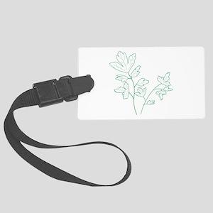 Parsley Herb Plant Luggage Tag