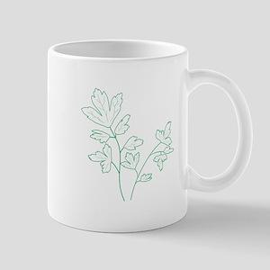 Parsley Herb Plant Mugs