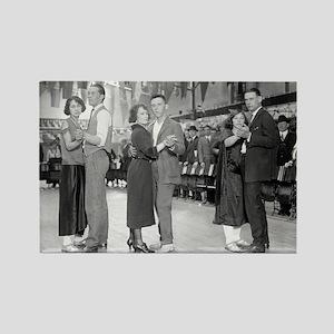 Dance Marathon, 1923 Magnets