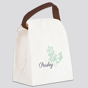 Parsley Plant Canvas Lunch Bag