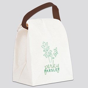 Perky Parsley Canvas Lunch Bag