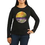 As Above So Below Women's Long Sleeve Dark T-Shirt