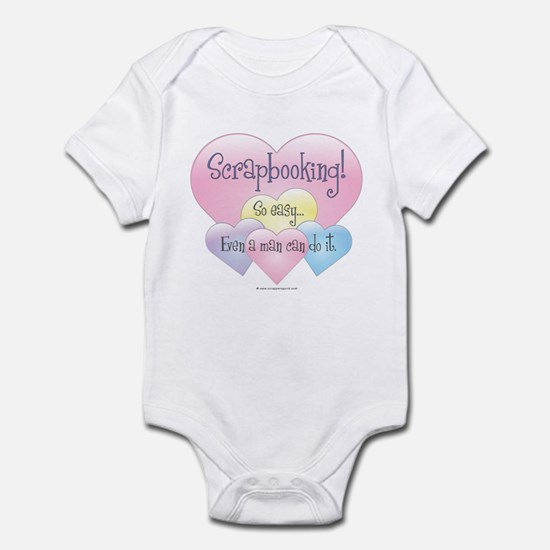 So Easy A Man Can Do It Infant Bodysuit