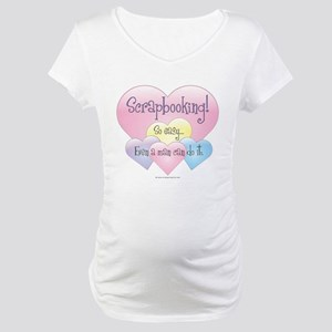 So Easy A Man Can Do It Maternity T-Shirt