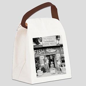 Roadside Market, 1936 Canvas Lunch Bag