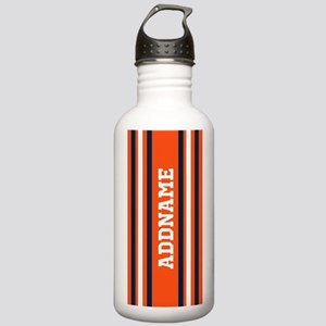 Orange and Blue Sports Stainless Water Bottle 1.0L