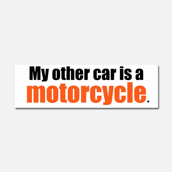 Motorcycle Car Magnet 10 x 3