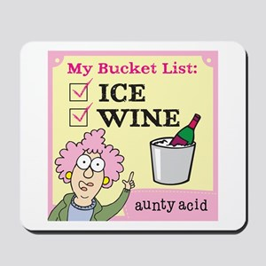 Aunty Acid: Bucket List Mousepad