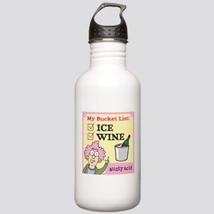 Aunty Acid: Bucket Lis Stainless Water Bottle 1.0L