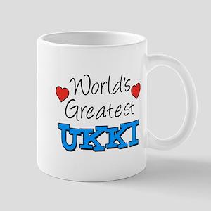 Worlds Greatest Ukki Mugs
