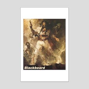 Blackbeard the Pirate Mini Poster Print
