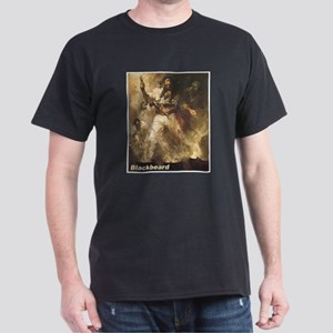 Blackbeard the Pirate (Front) Dark T-Shirt