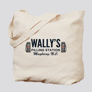 Wally's Filling Station Mayberry Tote Bag