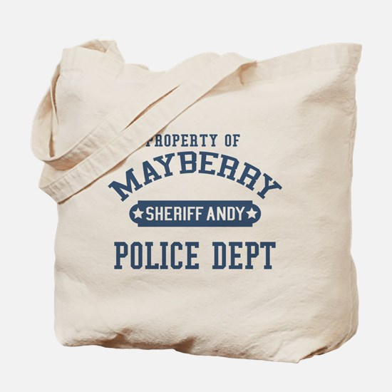 Mayberry Police Sheriff Andy Tote Bag