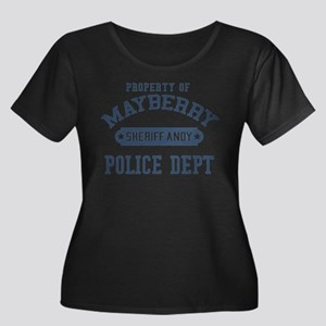 Mayberry Police Sheriff Andy Plus Size T-Shirt