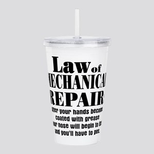 mechanical repair2 Acrylic Double-wall Tumbler