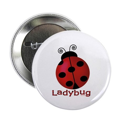 "Cute Ladybug 2.25"" Button (100 pack)"