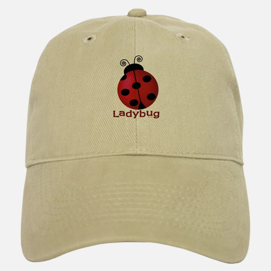 Cute Ladybug Baseball Baseball Cap