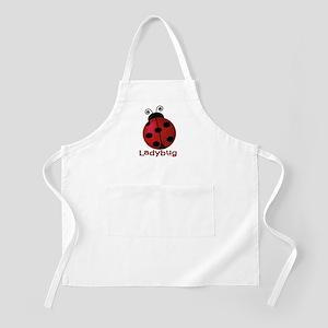 Cute Ladybug BBQ Apron