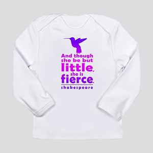 And though she be but little, she is fierce. Long