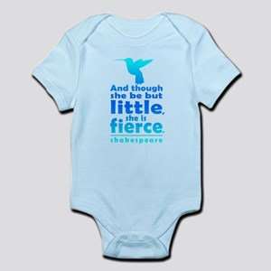 And though she be but little, she is fierce. Body