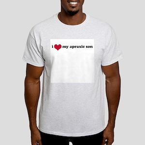 Apraxic Son (Apraxia) - Light T-Shirt