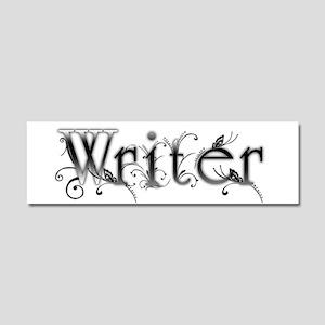 Writer Car Magnet 10 x 3