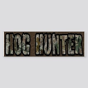 Team Rut Hog Hunter Bumper Sticker