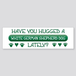 Hugged Shepherd Bumper Sticker